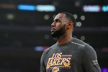 "LeBron James Delivers $1M Check To Build New Gym At His ""I Promise"" School"