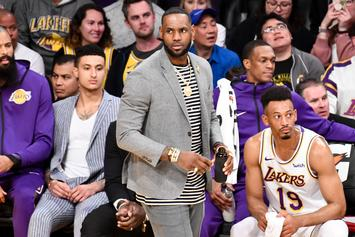 LeBron James Reacts To Lakers Winning Fourth Overall Pick