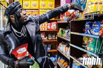 """YFN Lucci Lists Magic Strip Club As Favorite Atlanta Food Spot & Reveals His Last Meal Choice On """"Snack Review"""""""