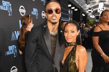 August Alsina Says Will Smith Put The Paws On Him For Jada Pinkett Rumors