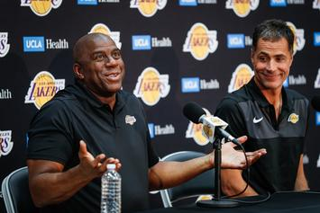 Rob Pelinka Refutes Magic Johnson's Claims That He Backstabbed Him
