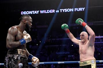 """Tyson Fury Disses Deontay Wilder, Says He """"Can Suck My Nuts"""""""