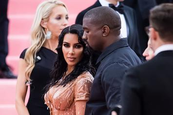 Kim & Kanye West Decided On Psalm West's Name The Day He Was Born