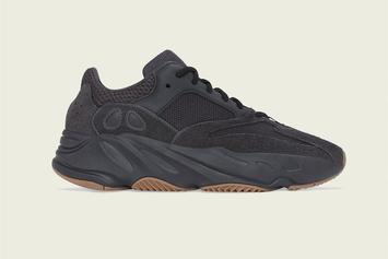 "Adidas Yeezy Boost 700 ""Utility Black"" Release Date Announced"