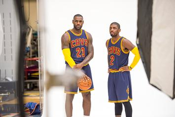 Kyrie Irving Spotted Hanging With LeBron In L.A. As Free Agency Looms