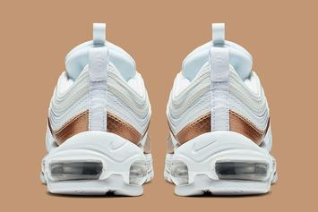 """Nike Air Max 97 """"Bronze"""" Colorway Releasing Soon: Official Images"""
