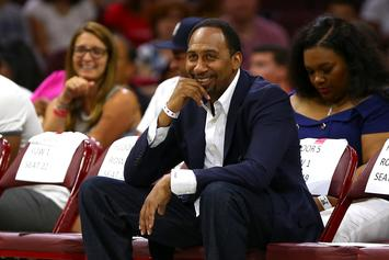 Stephen A. Smith Breaks His Silence On The Baby Filter Memes