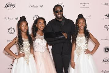 "Diddy Shares Touching Photo Of His 3 Daughters: ""Words Can't Explain"""