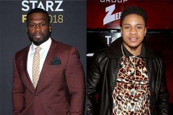 """50 Cent Virtually Pulls Up On Rotimi: """"I Want To Punch This N***a Nose"""""""