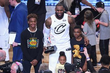 LeBron James Jr., Zaire Wade Teaming Up At Sierra Canyon HS