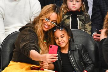"""Watch: Blue Ivy Sings Along To """"Circle Of Life"""" With Mom Beyoncé In """"Lion King"""" Inspired Outfits"""