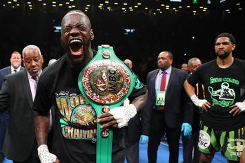 "Deontay Wilder Calls Anthony Joshua A ""Broken Man"" After Ruiz Loss"