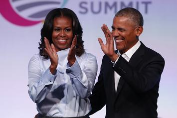 Barack And Michelle Obama Strike Deal With Spotify For New Podcast Series
