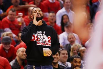 Drake Taunts Golden State Warriors After Toronto Raptors Take Game 4
