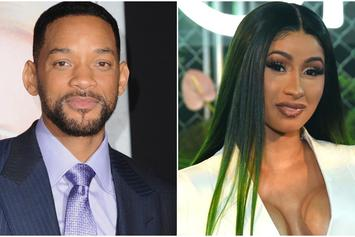 Someone Edited Will Smith & Cardi B Together In One Hilarious Clip