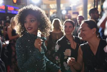 """""""Pose"""" Actress Indya Moore Clashes With Trump Supporters In Manhattan"""