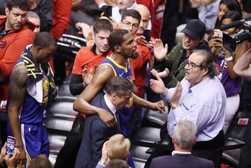 Raptors Fan Starts GoFundMe For Kevin Durant's Charity As An Apology
