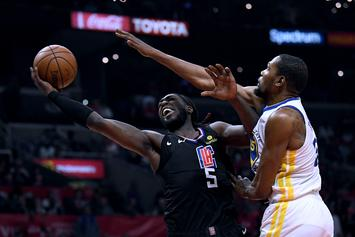Montrezl Harrell Rips Fan For Mocking His Well-Wishes To Kevin Durant