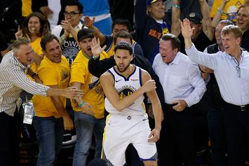 "Klay Thompson's Dad Says ""No Question"" Klay Will Re-Sign With Warriors"