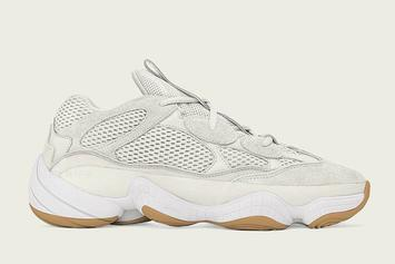 """Adidas Yeezy 500 """"Bone White"""" Releasing In Sizes For The Whole Fam"""
