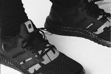 """Adidas UltraBoost X Undefeated Collab Returns In """"Blackout"""" Colorway"""