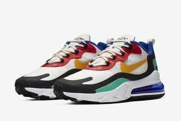 "Nike AIr Max 270 React ""Bauhaus"" Debuts On July 3rd: Official Images"