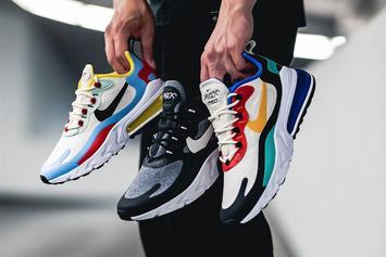 Nike Air Max 270 React Debuts In Multiple Colorways: Purchase Links