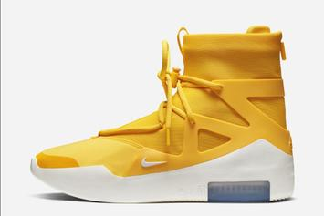 "Nike Air Fear of God 1 ""Amarillo"" Dropping Soon: Official Images"