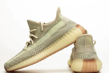 """Adidas Yeezy Boost 350 V2 """"Citrin"""" Drops In September: Best Look Yet"""