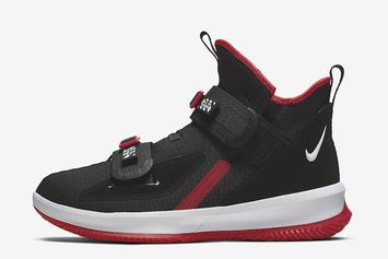 """Nike LeBron Soldier 13 Set to Drops In """"Bred"""" Colorway: Detailed Look"""