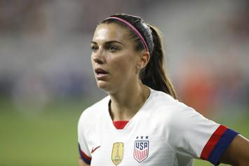"USWNT's Alex Morgan Responds To Criticism Over ""Tea Celebration"""