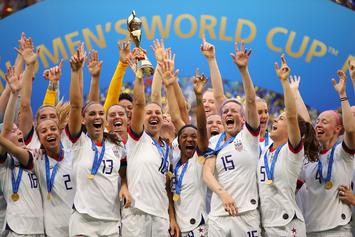 "Megan Rapinoe Leads US Women's Team To ""2019 World Cup Title"""