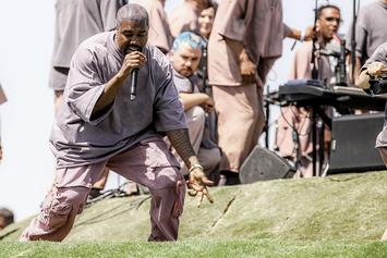"""Kanye West Steps Out In Rumored Adidas Yeezy Boost 350 V3 """"Alien"""""""