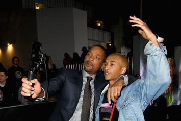 "Will Smith Toasts To Jaden Smith Paying His ""Own Bills"" At 21st Birthday Celebrations"