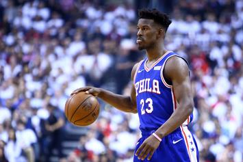 Jimmy Butler's Name Misspelled In 76ers Tribute Post, Twitter Reacts