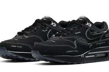 """Nike Air Max 1 """"Black Schematic"""" Coming Soon: Official Images"""