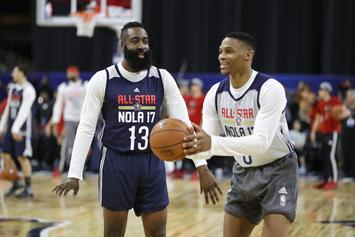 Russell Westbrook & James Harden Were In Talks After Paul George Trade: Report