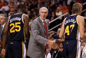 """Legendary Utah Jazz Coach Jerry Sloan Is Reportedly """"Dying"""""""