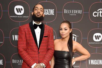 "Lauren London Rewinds With Old Nipsey Hussle Photo: ""Always Had A Crush On Him"""