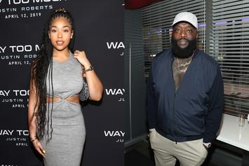 Jordyn Woods' Appearance In Rick Ross' New Video Is In Honor Of Her Late Father