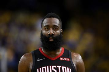 """James Harden Claims His New Shot Will """"Look Like It's A Travel"""""""