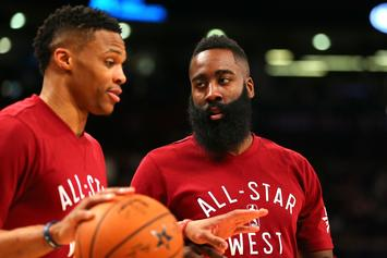 James Harden Breaks His Silence On Russell Westbrook Trade: Watch