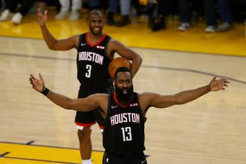 James Harden Comments On His Relationship With Chris Paul: Watch