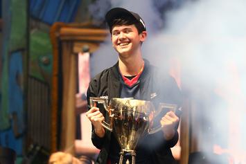 """16-Year-Old """"Fortnite"""" World Champ Takes Home $3M At Tournament"""