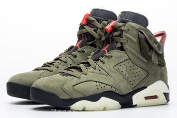 Travis Scott x Air Jordan 6 Rumored Release Date Unveiled