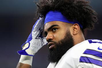 "Ezekiel Elliott, Cowboys ""Not Close"" In Contract Negotiations: Report"