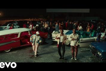 "ScHoolboy Q, YG & Ty Dolla $ign Turn Up The Drive-In For ""Lies"" Video"