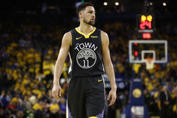 """Klay Thompson Believes His ACL Injury Is A """"Tragic Part Of Sports"""""""