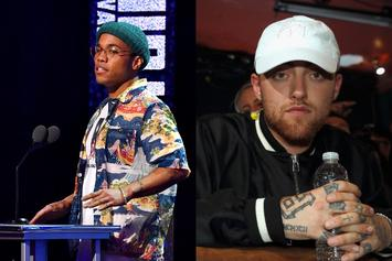 "Anderson .Paak Pays Pens Tribute To Mac Miller On 1 Year Anniversary Of ""Swimming"""