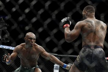 "Kamaru Usman Claims Fans Want Him To ""Kill"" Colby Covington"